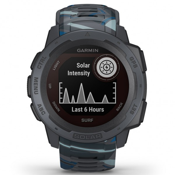 Garmin Instinct Solar Surf Pipeline 010-02293-07
