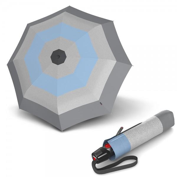 Knirps T Series Duomatic ομπρέλα βροχής Poppy Light Blue 32008319