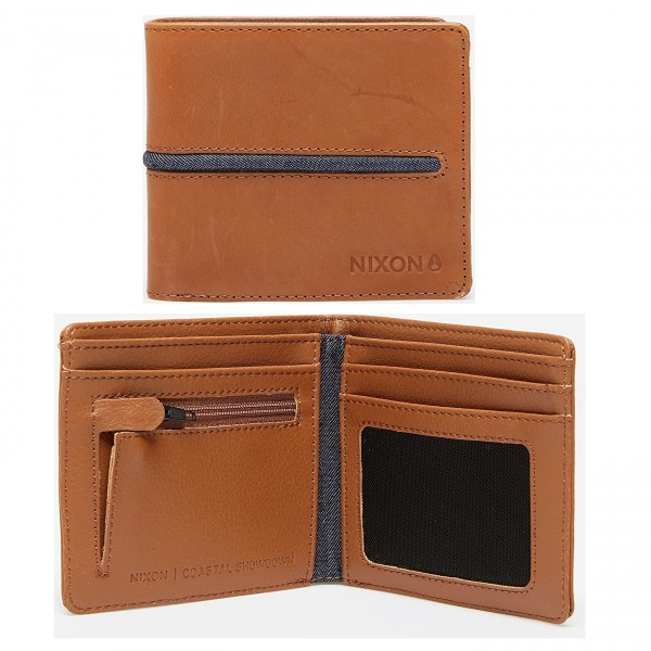 NIXON Coastal Showdown Leather Wallet C2519-405-00