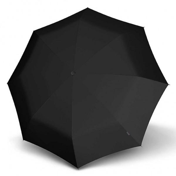 Knirps T Series Long Automatic ομπρέλα βροχής/Ξύλινη Λαβη Black 37721000