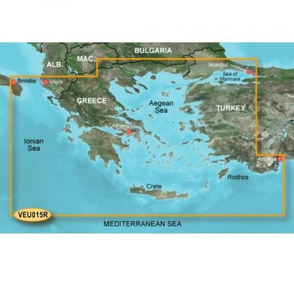 Garmin Nαυτικός Χάρτης G3 Vision VEU015R - Ελλάδα 010-C0773-00