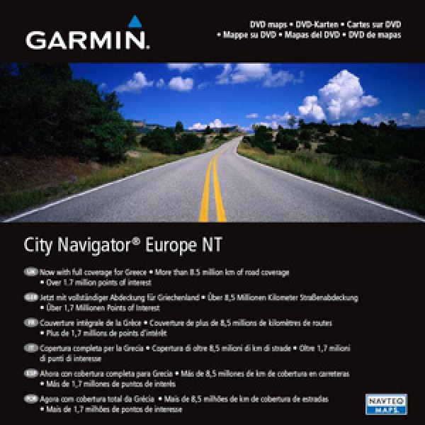 Garmin City Navigator NT SD (Full Europe) Auto-Moto 010-10680-50