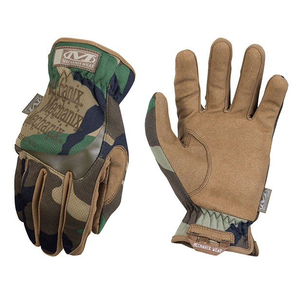 Mechanix Wear FastFit Woodland Camo MFF-77