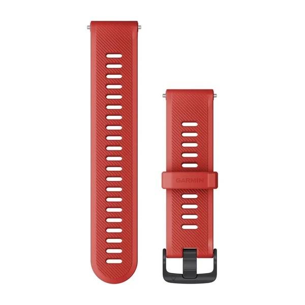 Garmin Λουρί Forerunner 745 Magma Red 010-11251-9C