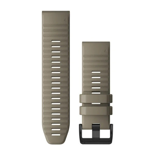 Garmin Λουρί QuickFit 26mm Dark Sandstone Silicone 010-12864-02