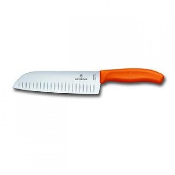 Μαχαίρι Santoku 17 εκατ. Swiss Classic Πορτοκαλί 6.8526.17L9B