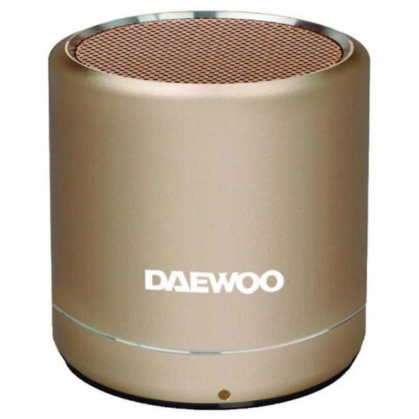 Daewoo Bluetooth Speaker Gold DBT-212G