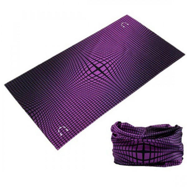 OMNI Αντιανεμικό Μαντήλι Distortion Purple