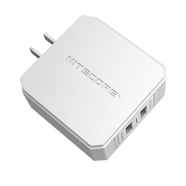 Nitecore Τροφοδοτικό USB, Quick charge 3.0 UA42Q