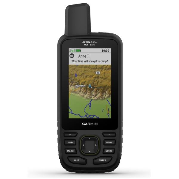 Garmin GPSMAP 66sr Multi-Band με Topo Active Europe & Topo Drive Hellas 010-02431-SR
