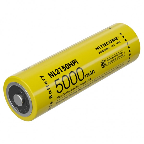 Nitecore Μπαταρία 21700HPI / 5000mAh NL2150HPΙ