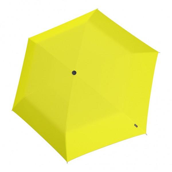Knirps U Series Folding ομπρέλα βροχής US.050 Slim Manual Yellow 00501352