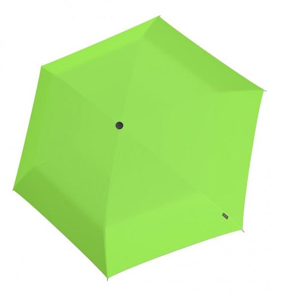Knirps U Series Folding ομπρέλα βροχής US.050 Slim Manual Neon Green 00508394
