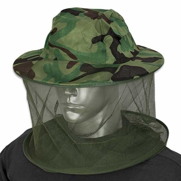 Barbaric καπέλο Green Camo Mosquito Net 30573