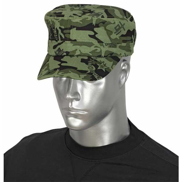 Barbaric καπέλο Green Military Camo 30575