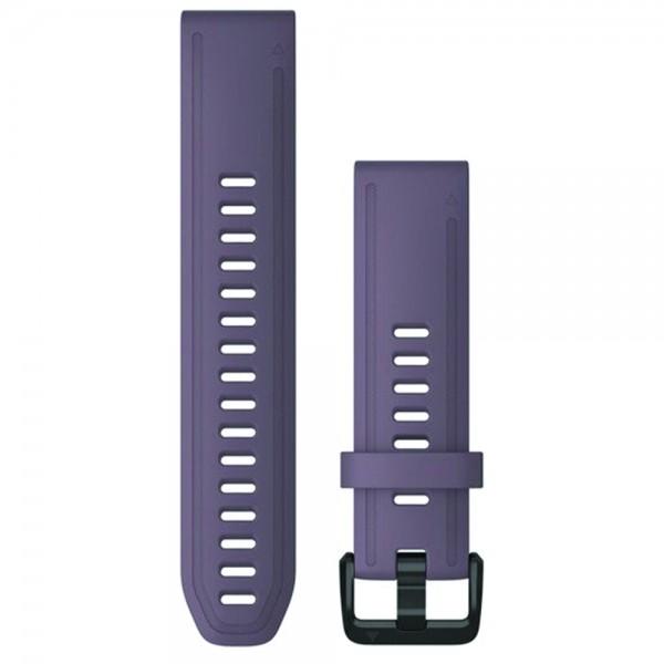 Garmin Λουρί QuickFit 20mm Purple Storm Silicone 010-12871-00