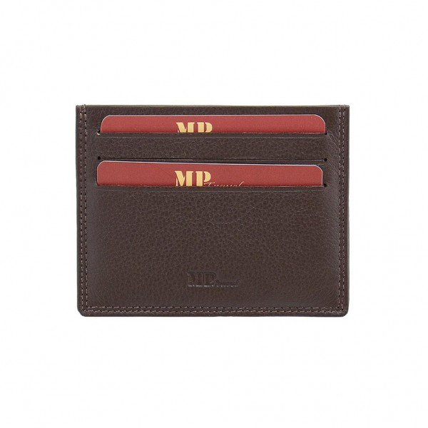 Marta Ponti Θήκη Καρτών Nevada Καφέ Σκούρο B23P017