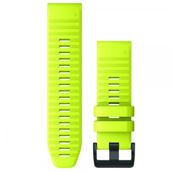 Garmin Λουρί QuickFit 26mm Amp Yellow Silicone 010-12864-04