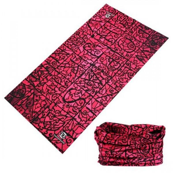 OMNI Αντιανεμικό Μαντήλι Pink Tribe