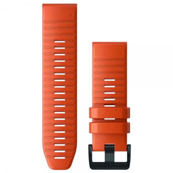 Garmin Λουρί QuickFit 26mm Ember Orange Silicone 010-12864-01