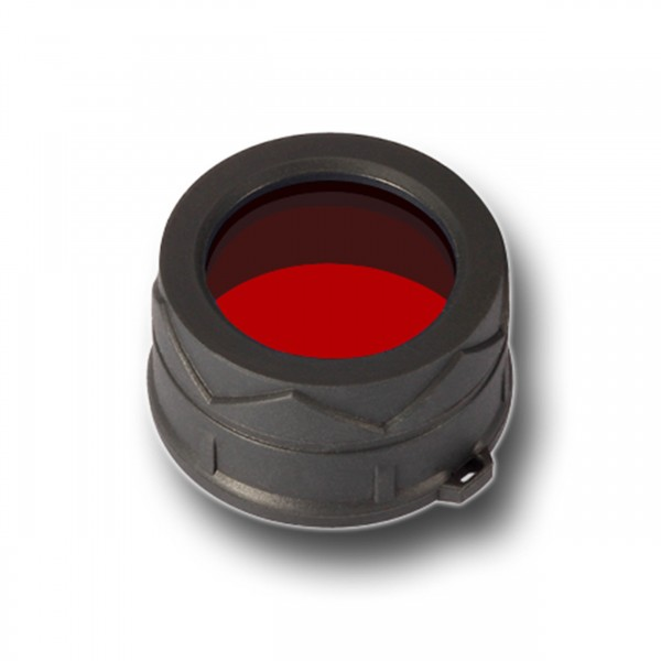 Nitecore Φίλτρο κόκκινου  χρώματος για φακους διαμέτρου 34mm