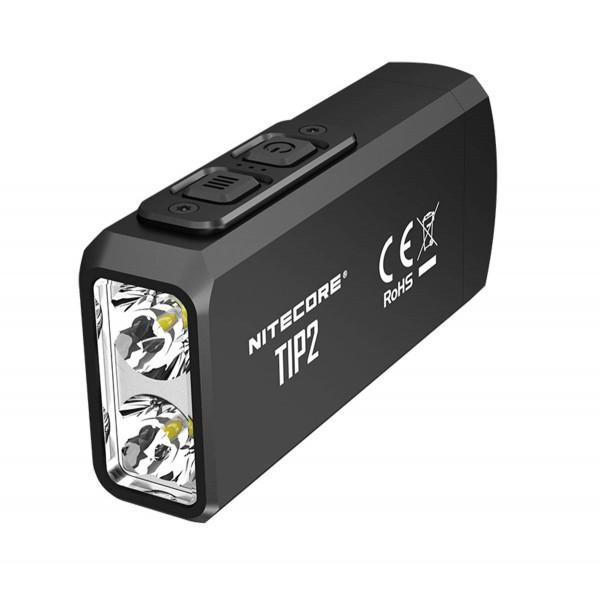 Nitecore Φακός Led TIP 2 Black 720Lumens