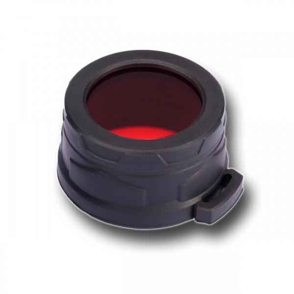 Nitecore Φίλτρο κόκκινου χρώματος για φακους διαμέτρου 40mm