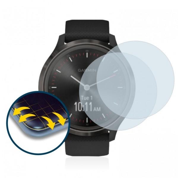 Brotect Flex Screen Protection για Garmin Vivomove 3 (2 τεμ - 44mm)