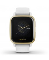 Garmin Venu Sq with White with Light Gold Bezel 010-02427-11