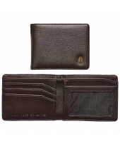 NIXON Cape Vegan Leather Wallet Brown C2964-400-00