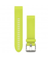Garmin Λουρί QuickFit 20mm Amp Yellow Silicone 010-12491-13