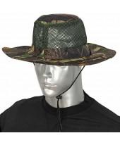 Barbaric καπέλο Boonie Tree Green Mosquito Net 30569