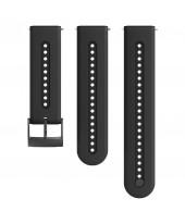 Suunto Λουρί 24mm Athletic 7 Silicon Strap Charcoal Black SS050687000