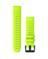 Garmin Λουρί QuickFit 22mm Amp Yellow Silicone 010-12863-04