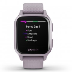 Garmin Venu Sq with Orchid with Metallic Orchid Bezel 010-02427-12