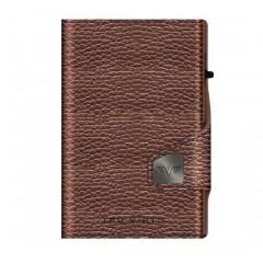 Tru Virtu Πορτοφόλι Click & Slide Brown Metallic/Brown 24104000124