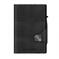 Tru Virtu Πορτοφόλι Click & Slide Lizard Black/Black 24104000307