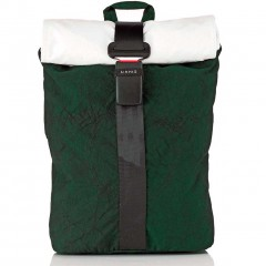 Airpaq Classiq 2.0 Rolltop/White Σακίδιο Πλάτης Green