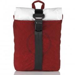 Airpaq Classiq 2.0 Rolltop/White Σακίδιο Πλάτης Red
