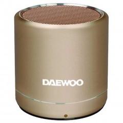 Daewoo Bluetooth Speaker Gold DBT-212G