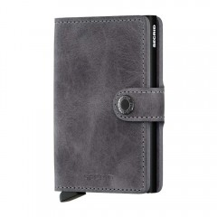 Secrid Miniwallet Vintage Grey-Black