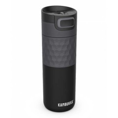 Kambukka Θερμός Etna 500ml Black Steel 01010