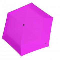 Knirps U Series Folding ομπρέλα βροχής US.050 Slim Manual Neon Pink 00508393