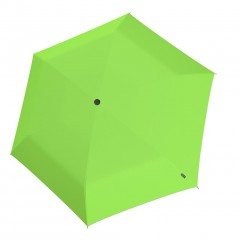 Knirps U Series Folding ομπρέλα βροχής US.050 Slim Manual Neon Green 00508394