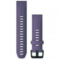Garmin Λουρί QuickFit 20 Purple Storm Silicone Fenix 6S 010-12871-00