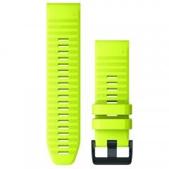 Garmin Λουρί QuickFit 26mm Amp Yellow Silicone 010-12864-04