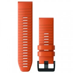 Garmin Λουρί QuickFit 26 Ember Orange Silicone Fenix 6X 010-12864-01