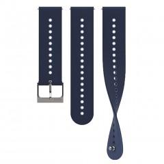Suunto Λουρί 22mm Urban 4 Silicone Strap Granite Blue SS050690000