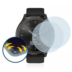 Brotect Glass Screen Protection για Garmin Vivomove 3 (2 τεμ - 44mm)