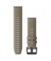 Garmin Λουρί QuickFit 22mm Dark Sandstone Silicone 010-12863-02